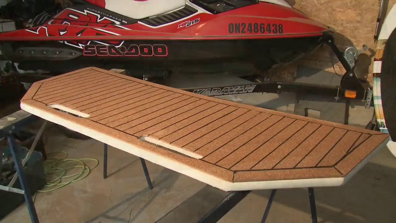 Design And Build Your Own Swim Platform | PowerBoatTV