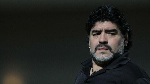 Maradona en Villa Devoto.