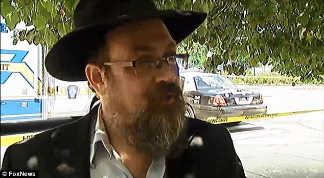 Motive: Savyon's rabbi, Levi Krinsky, said the man had become depressed after his younger brother died in Israel recently from a heart attack