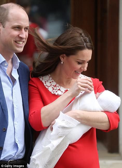 El nuevo bebé es el quinto en la fila al trono
