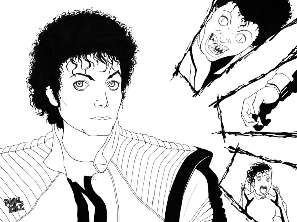 Michael Jackson Drawing Pictures At Getdrawingscom Free For