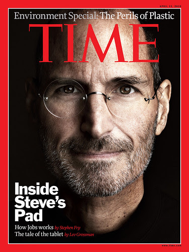 Steve Jobs iPad - Time Magazine