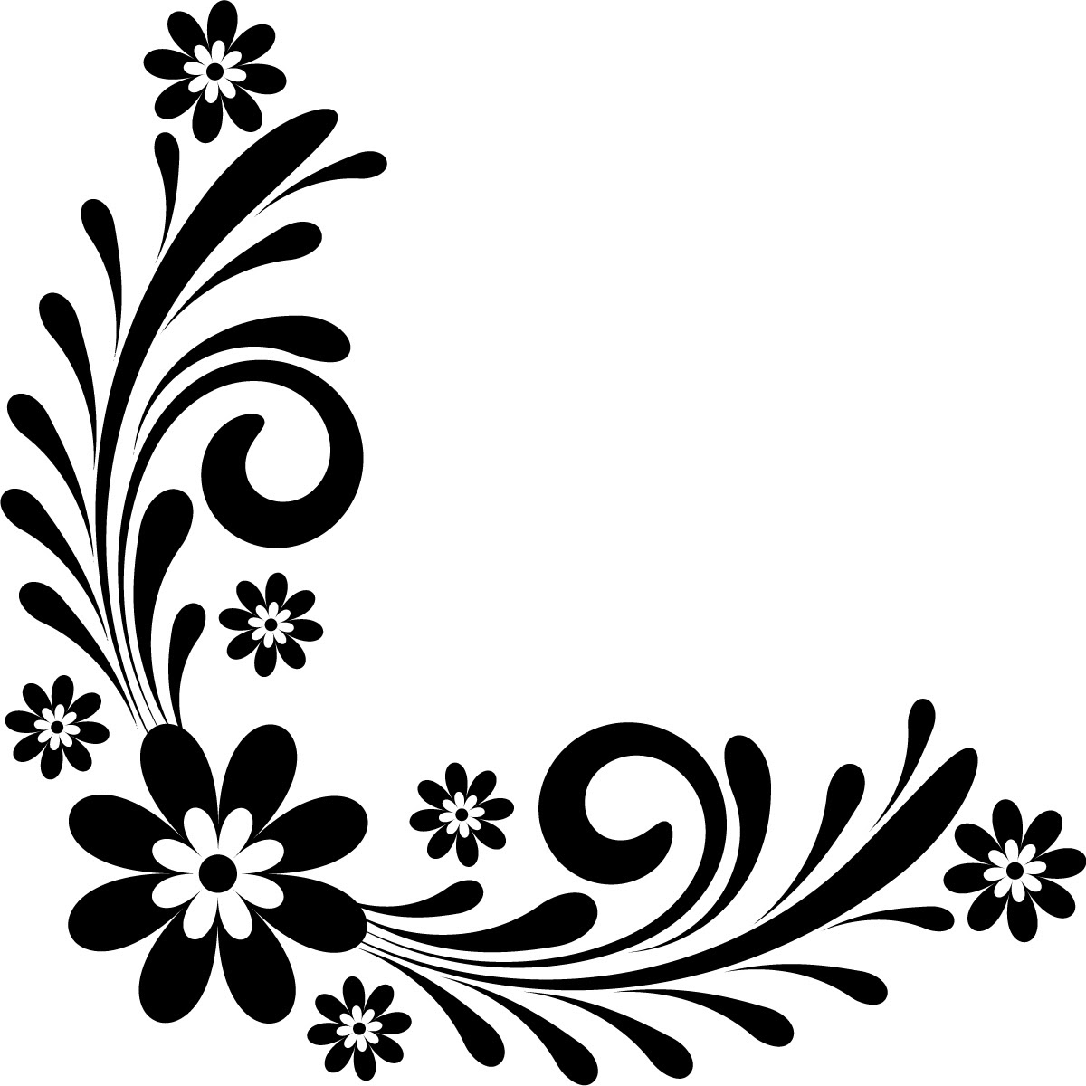 Border Design Black And White Clipart Free Download Best Border