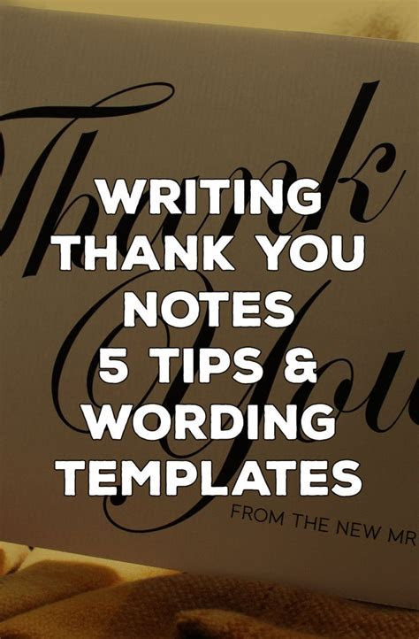 17 Best images about Thank You Letters & Notes ~ Help