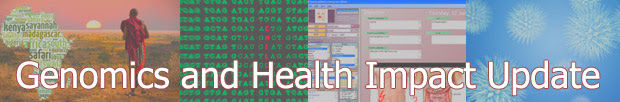 Genomics and Health Impact Update,sequencing, electonic health record,micro cells