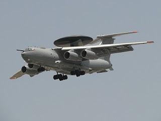 Entra em operação o Il-76 indiano AWACS