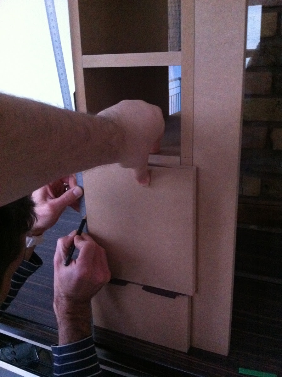 Bau eines Kuechenschraenkchens - 16
