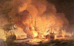 Luny Thomas Battle Of The Nile August 1st 1798 At 10pm.jpg