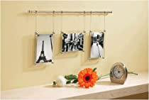 Umbra Trapeze Trio 4 Inch By 6 Inch Hanging Glass Frames Set Of 3