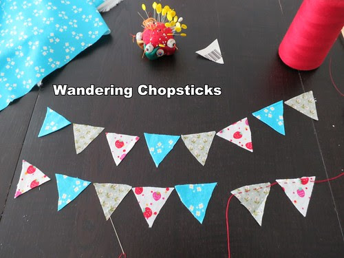 How to Sew Cake Bunting 4