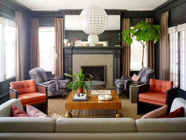 Family Room / Living Room on Pinterest