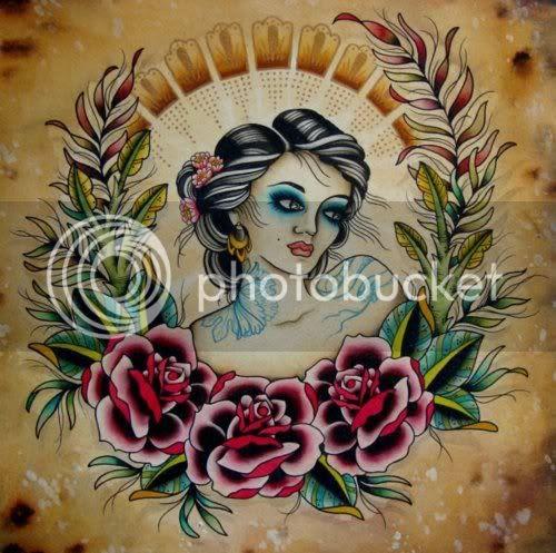 chelsea rhea girl painting tattoo