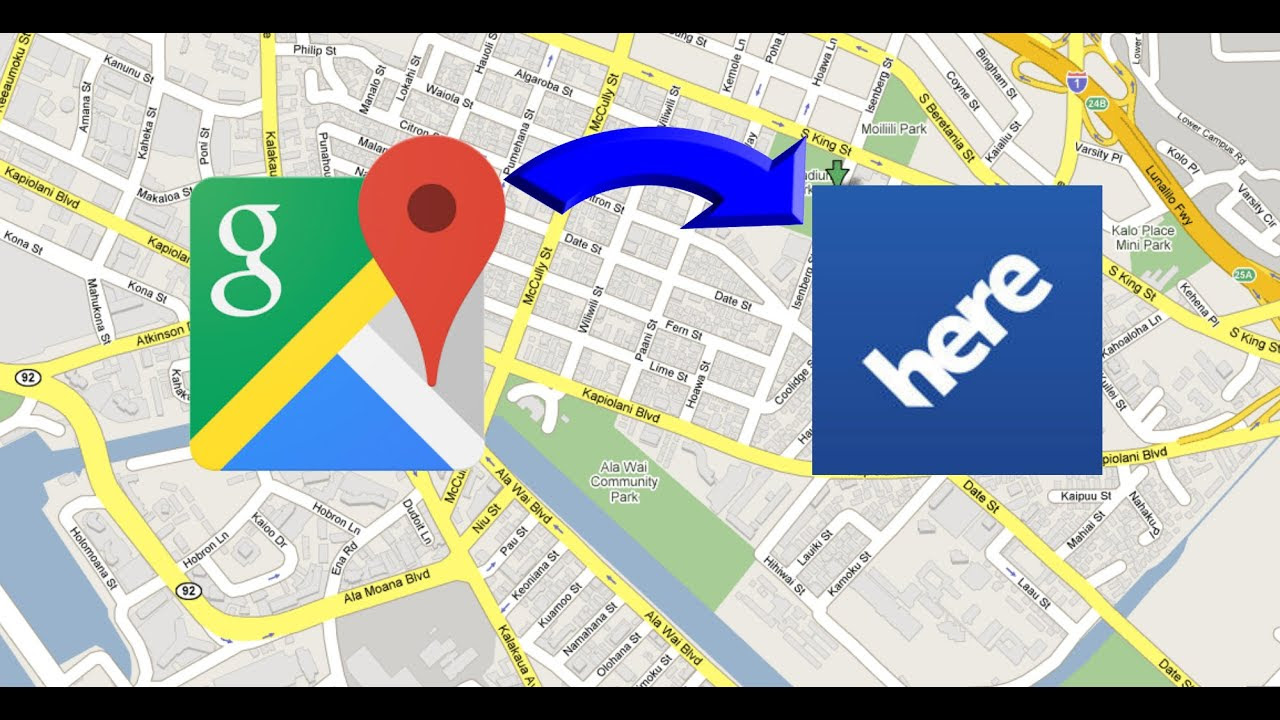 How To Share Send Any Location From Google Maps To Here