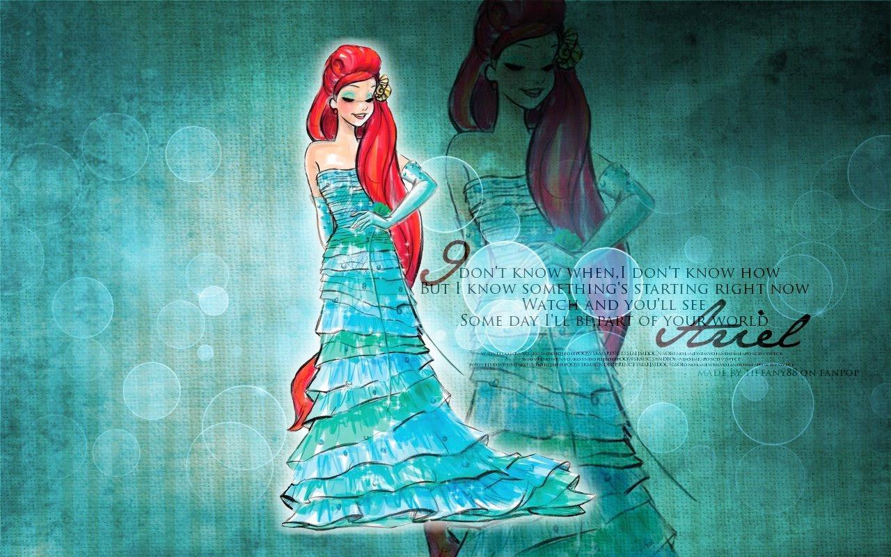 Ariel The Little Mermaid Wallpaper 26040116 Fanpop