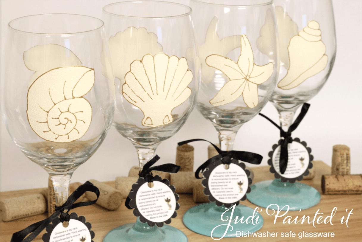 Shell Wine Glasses Wwwtopsimagescom