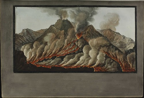Plate 10, crater of Mt. Vesuvius