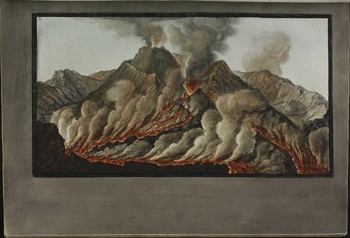 Plate 10, crater of Mt. Vesuvius