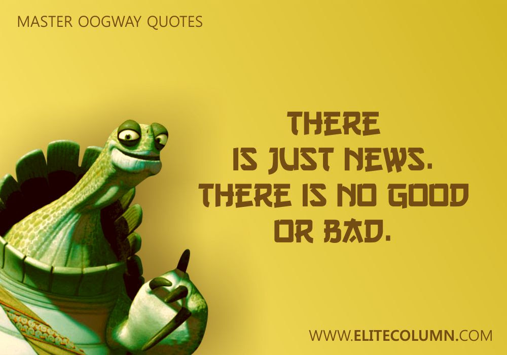 10 Super Inspiring Master Oogway Quotes Elitecolumn