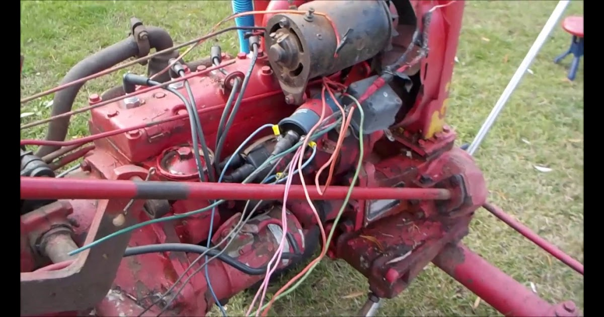 Farmall Cub Wiring Harnes Replacement
