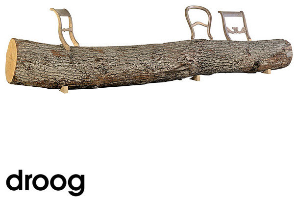 Droog Tree-Trunk Bench - benches - los angeles - by LoftModern.