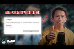 Cara Memperbaiki Video yang Error _ Tidak Bisa Dibuka - WONDERSHARE VIDEO REPAIR