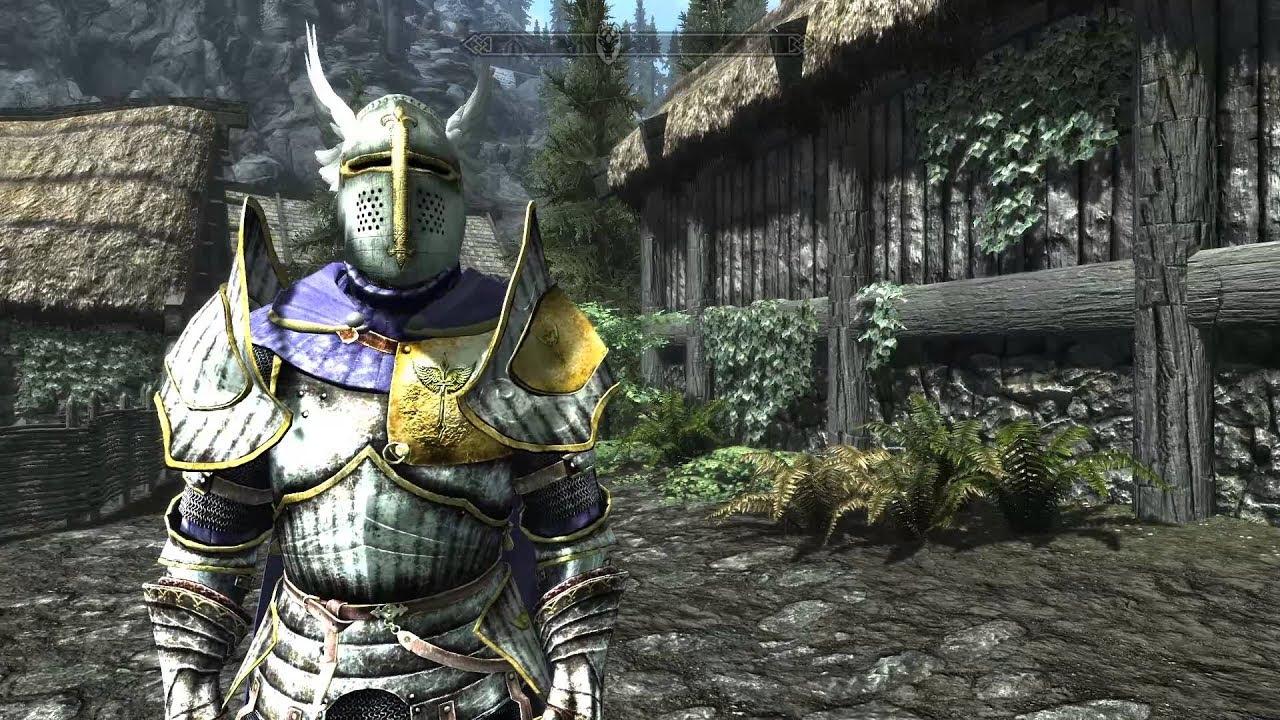 Paladin Armor - Immersive Armors - YouTube