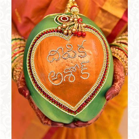 Customizable Designer Wedding Coconut   wedding items