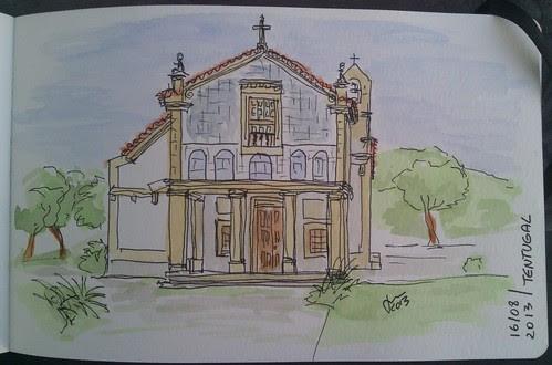 Capela Nossa Senhora dos Olivais - Tentugal by JMADesigner