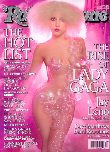 Lady GaGa is sexy in magazines