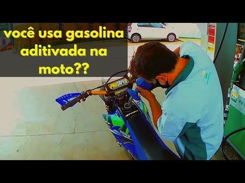 Gasolina aditivada na moto? Você faz isso? Veja o vídeo