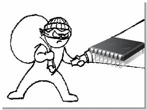 Mạch báo động với hệ thống báo động chống trộm và PIC16C54