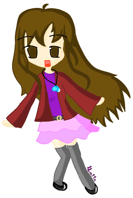 Lineless anime art by A-Cup-of-Hot-Choco on DeviantArt