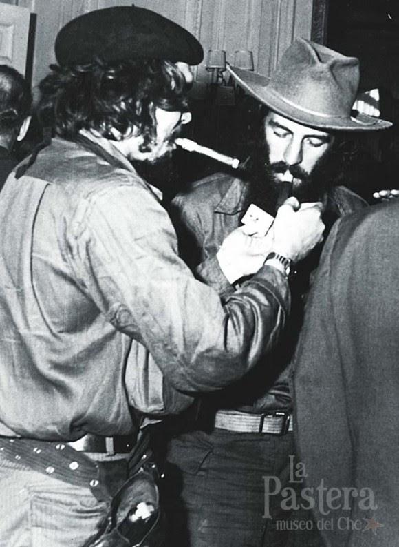 Con el Che.