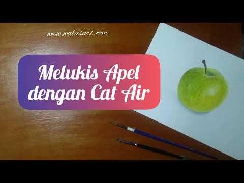 "Cara Menyalin Gambar Ke Kertas Cat Air Menggunakan ""Tracing Paper"""