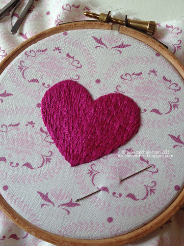 Long-and-short stitch Tutorial