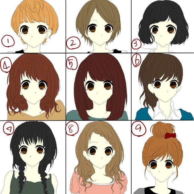 女の子 髪型 ショート 種類