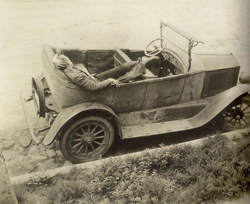 Margrethe Mather - The Abandoned Car (1925)