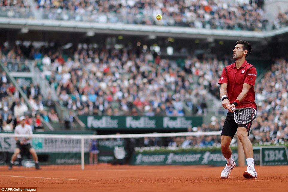 Djokovic's performance was composed and elegant and his ability to attack from defending positions tired Murray
