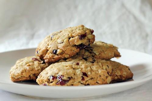 Cranberry Walnut Oatmeal Cookies