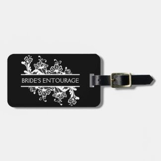 Bride Entourage Luggage Tag