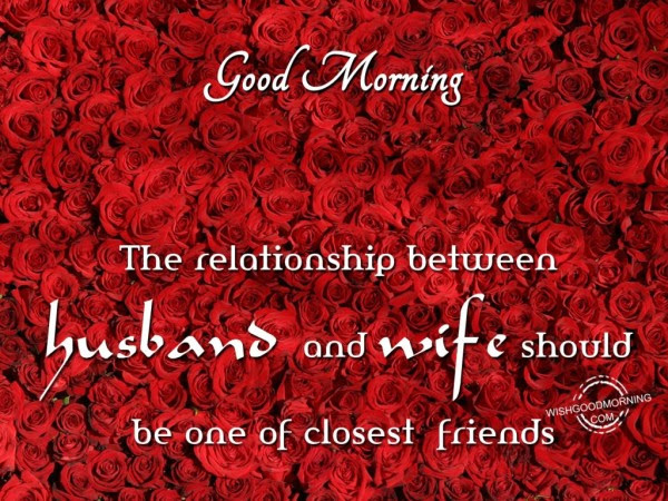 Sublime Good Morning Wishes For Husband And Wife Nicewishes