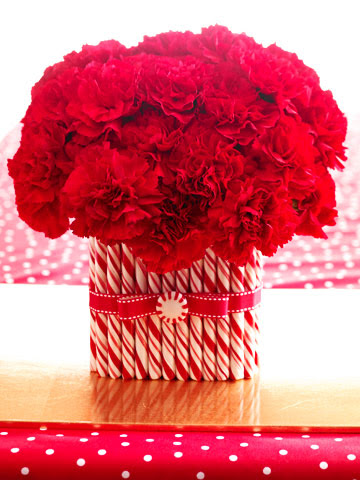 Peppermint Vase