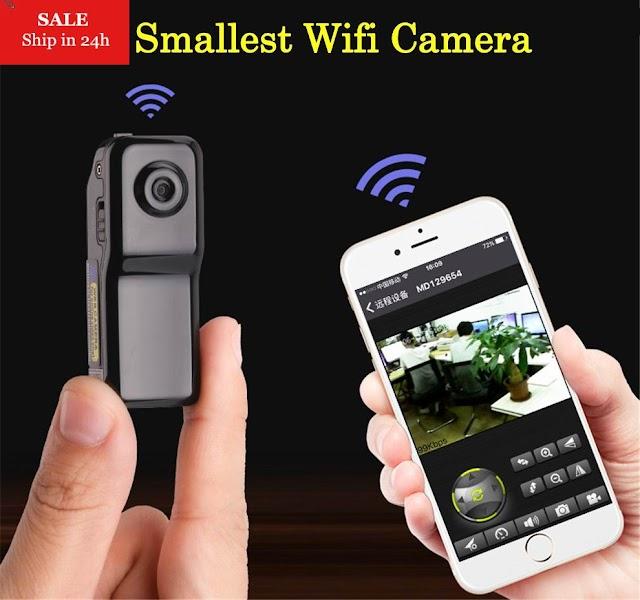Kopen Goedkoop Smarcent MD81S Mini Camera Wifi IP P2P Draadloze Geheime Opname CCTV Android IOS Camcorder Video Espia Nanny Candid Online