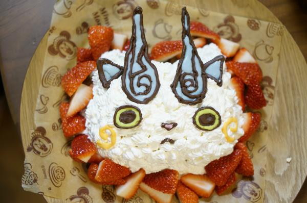 パパの誕生日にコマさんケーキ 未分類