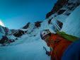 David Lama solos new climb on Hohe Kirche in Valse   rtal