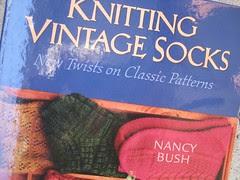 vintage socks book