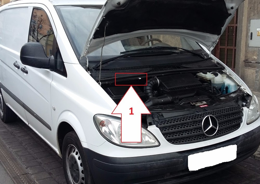 Mercedes-Benz Vito (2003-2005) - Where is VIN Number ...