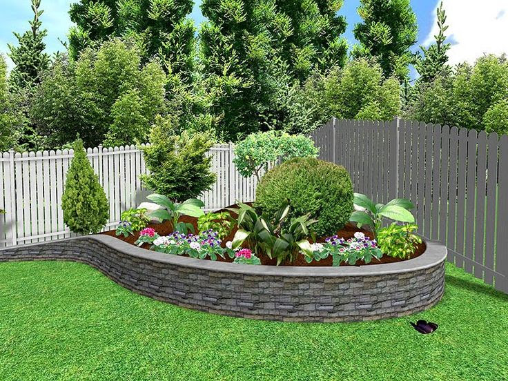 Backyard Idea Landscaping Garden Design