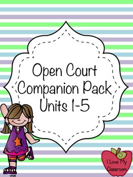 Open Court 4th Grade Pack - Themes, Vocab, Writing, and Gr