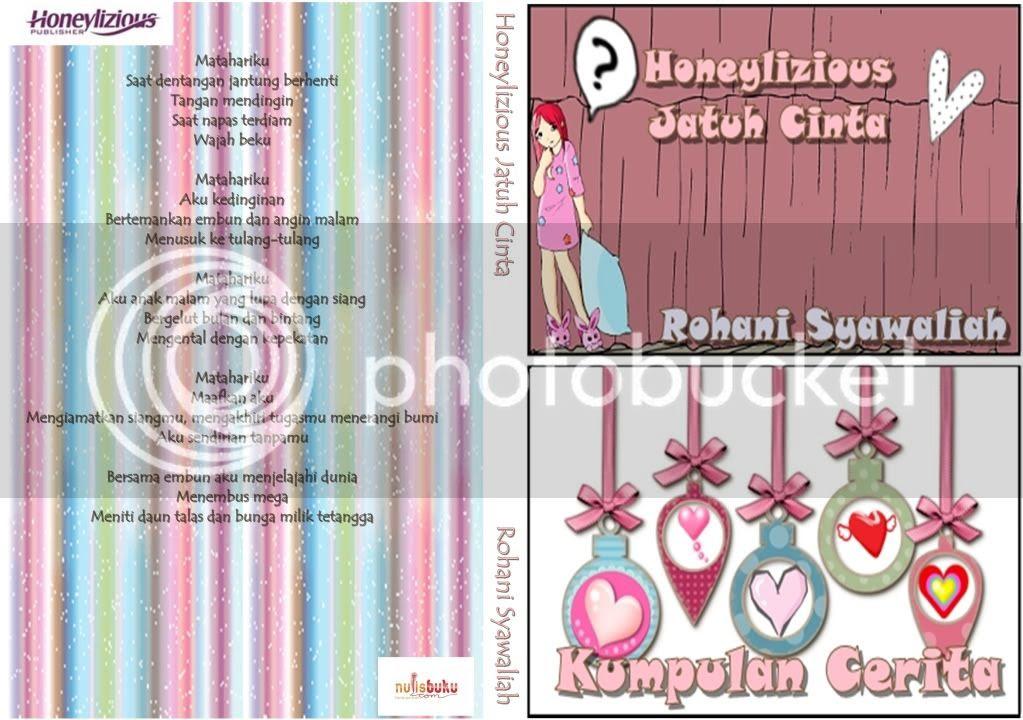 Tabu: Honeylizious Jatuh Cinta #BukuKetiga (Akhirnya Terbit juga)